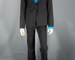 Warehouse 13 Myka Joanne Kelly Screen Worn Suit and Hugo Boss Shirt Ep 103 and 204