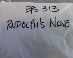 Warehouse 13 Screen Used Rudolph Nose Artifact Barbells and Artie Paperwork Set