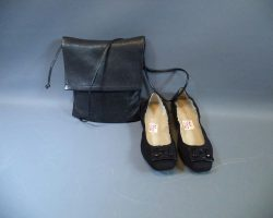 Warehouse 13 Dr Vanessa Calder Lindsay Wagner Screen Worn Purse and Shoes Ep 406