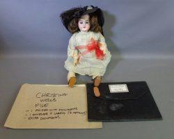 Warehouse 13 Christina Wells Jordyn Negri Screen Used Doll and Portfolio Set