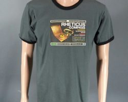 Warehouse 13 Joshua Donovan Tyler Hynes Screen Worn Rheticus Compass Shirt Ep213