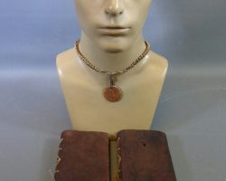 Warehouse 13 Reverend Hill Joe Morton Screen Used Necklace and The Path Notebooks