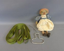 Warehouse 13 Screen Used Doll and Dc Coopers Parachute Cord Artifact Set Ep 409