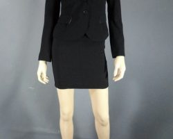 Warehouse 13 Claudia Allison Scagliotti Screen Worn Jacket Skirt and Shoes Ep 402