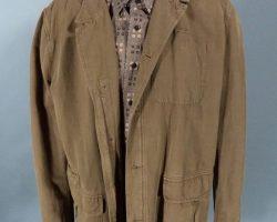 Warehouse 13 Artie Saul Rubinek Screen Worn Coat and Burma Bilas Shirt Ep 503