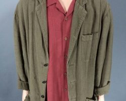 Warehouse 13 Artie Saul Rubinek Screen Worn Jacket and Tommy Bahama Shirt Ep 501