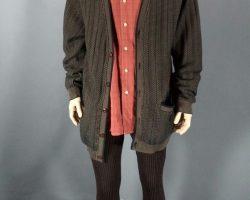 Warehouse 13 Artie Nielsen Saul Rubinek Screen Worn Sweater Shirt Pants Ep 305