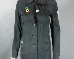 Warehouse 13 Claudia Allison Scagliotti Screen Worn Talula Babaton Coat Ep 406