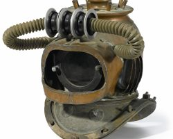 A Nautilus Divers Helmet From 20,000 Leagues Under The Sea