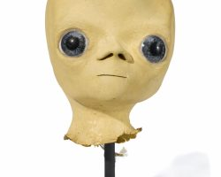 A Prototype Alien Head From Close Encounters Of The Third Kind