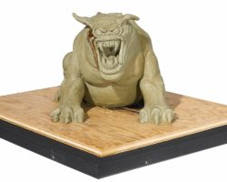 A Terror Dog Maquette From Ghostbusters
