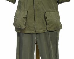 A Tom Berenger Army Uniform From Platoon
