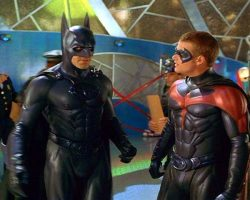 A Chris ODonnell Robin Costume From Batman And Robin
