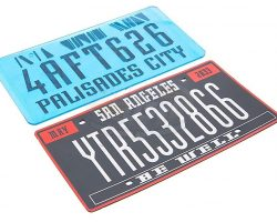 Demolition Man – Prop License Plates