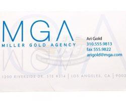 Entourage (TV) – Ari Golds Business Card & Cigar (Jeremy Piven)