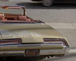 Last Action Hero – Jack Slaters License Plate (Arnold Schwarzenegger)