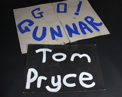 RUSH – Nilsson and Pryce Homemade Fan Banners