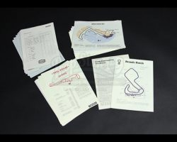 RUSH – Assorted Formula One Race Documents