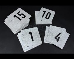 RUSH – Set of 32 Pit Garage Numbers