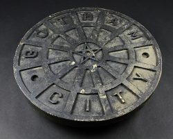 Batman Begins Distressed Gotham City Manhole Cover