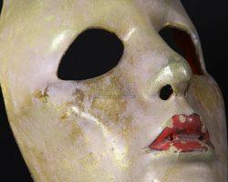Alicia Hunt's (Jerry Hall) Mask BATMAN (1989)