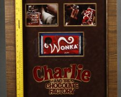 Charlie And The Chocolate Factory Framed Moroccan Wonka Bar Display