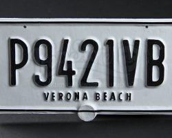 Romeo & Juliet Verona Beach Licence Plate – P9421VB