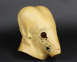 Collection of Three Prototype Second Stage Guild Navigator Heads DUNE