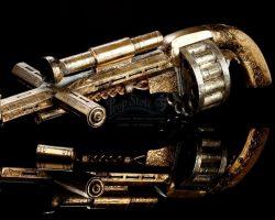 John Constantine's (Keanu Reeves) Holy Shotgun and Bullet CONSTANTINE