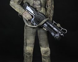 Complete Mangalore Creature Costume & Rifle THE FIFTH ELEMENT