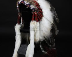 J.M. Barrie's (Johnny Depp) Native American Headdress FINDING NEVERLAND