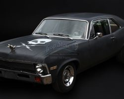 """Full-Size Running 1970 Chevy Nova """"Death Proof"""" Car GRINDHOUSE: DEATH PROOF"""