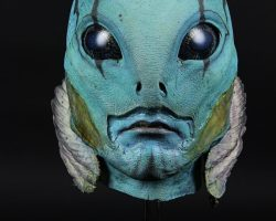 Abe Sapien (Doug Jones) Head Appliance HELLBOY