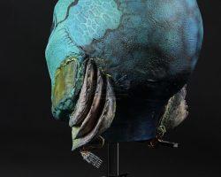 Abe Sapien (Doug Jones) Head Appliance HELLBOY