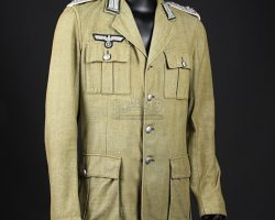 Colonel Dietrich's (Wolf Kahler) Tunic RAIDERS OF THE LOST ARK