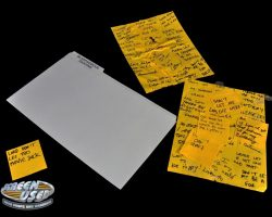 Prop Post-It note prayers and blasphemous folder from Bruce Almighty