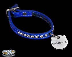 Snowbell screen-used cat collar from Stuart Little