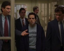 """Ben Stiller """"Ted"""" jacket & shirt from Theres Something About Mary"""