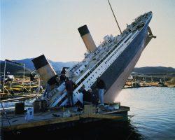Miniature HMS Titanic ship chimney cowl from Titanic