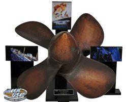 Prop miniature HMS Titanic propeller from Titanic