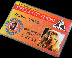 Barb Wire – Olivia Lewis License of Prostitution