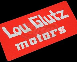 National Lampoons Vacation – Lou Glutz Motors License Plate
