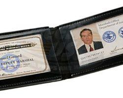 U.S. Marshals – Chief Deputy Marshal Samuel Gerards Badges & ID