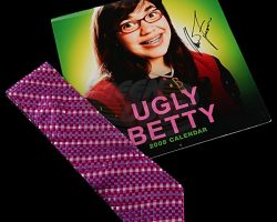 Ugly Betty (television) – Tie & Cast Signed Calendar