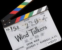 Windtalkers – Production Used Clapperboard
